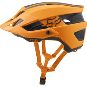 Fox Flux Rush Casco Trail Hombre, atomic orange